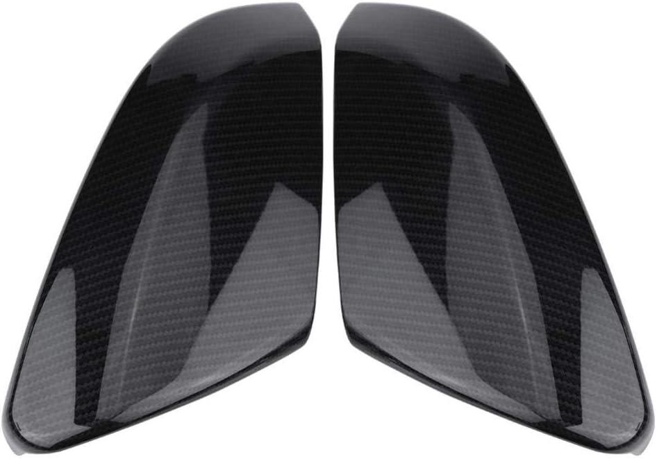 Suuonee Rearview Mirror Daily bargain sale Cover Carbon 2Pcs Cheap bargain Fiber Style