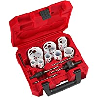 14-Piece Milwaukee Tools Hole Dozer Bi-Metal Hole Saw Kit