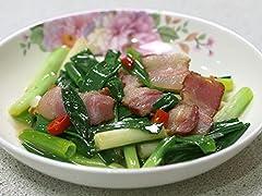 第04話「台湾宜蘭県羅東の三星葱の肉炒めと豚肉の紅麹揚げ」