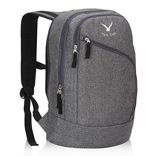 Hynes Eagle Laptop Backpack 15 Inch Business Bag Travel Rucksack Grey