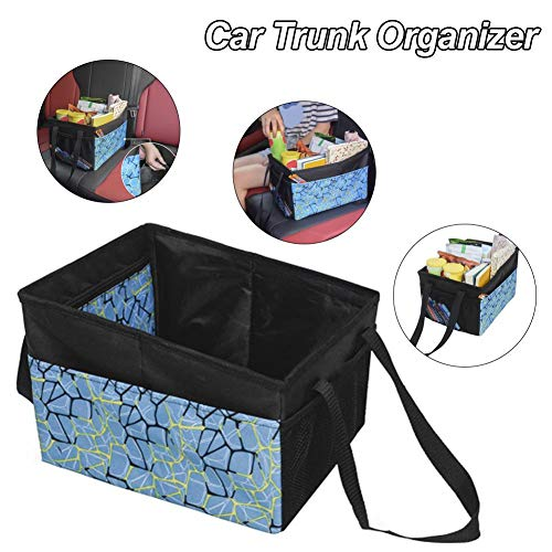 Goodtimera - Organizador plegable para maletero de coche, bolsa de almacenamiento portátil, bolsa plegable para furgonetas, todoterrenos