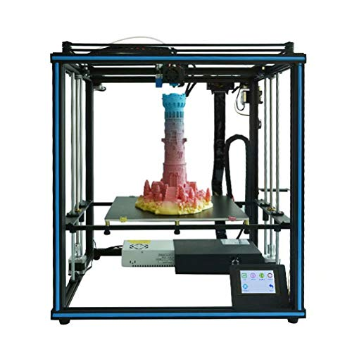 3D Printer 3D DIY HD Touch Screen Resume Printing Compatible with PLA, ABS, HIPS, WOOD, PC 330 * 330 * 400mm Printing Size