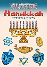 Glitter Hanukkah Stickers (Dover Little Activity Books Stickers)