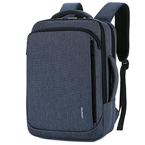 Modische Schultasche robuste Laptoptasche Big Capacity Rucksack Wasserdicht USB Aufladen Langlebiger Laptop Anti Diebsta