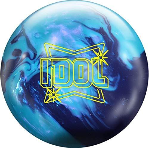 Roto-Grip Idol Pearl Blau/Amethyst Pearl Oberfläche, Reaktiv Bowlingkugel für Einsteiger und Turnierspieler - inklusive 100ml EMAX Ball-Reiniger Größe 12 LBS