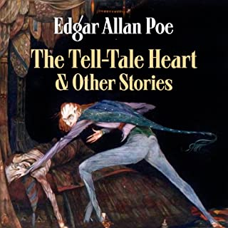 Edgar Allan Poe's The Tell-Tale Heart and Other Stories audiobook cover art