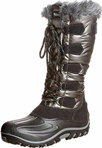 Tamaris - Botas de Nieve Mujer, Color Negro, Talla 38 EU