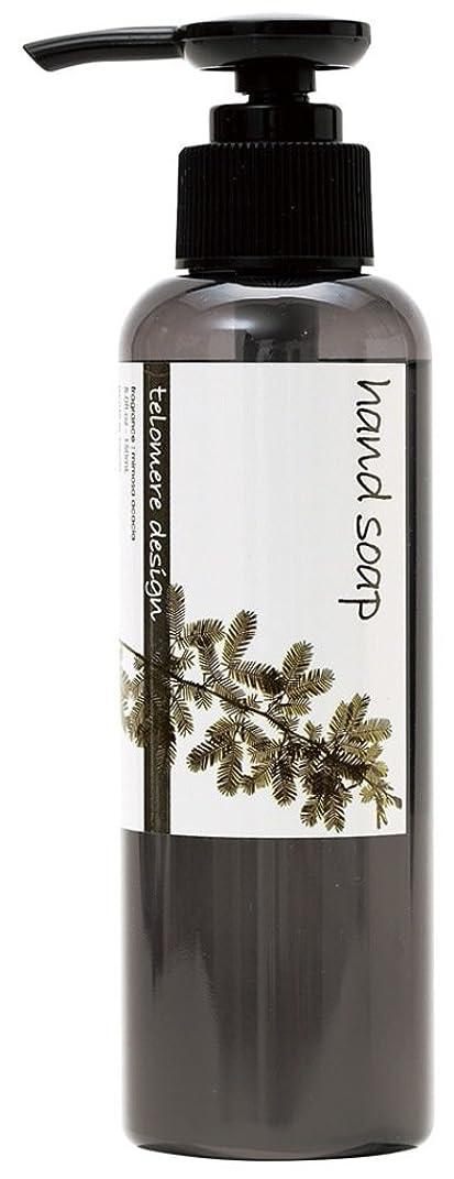 判読できないシルク口テロメア ハンドソープ 150ml 日本製 ミモザ アカシアの香り OZ-TOM-5-3