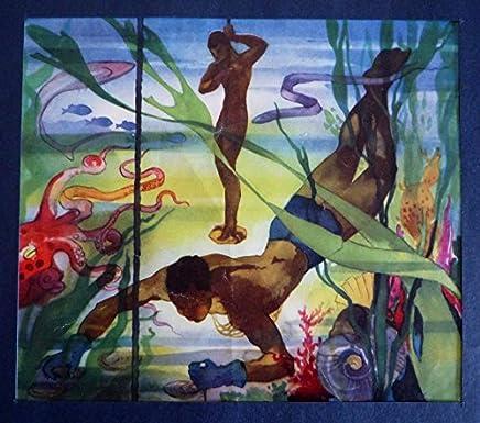Illustration pêcheurs de coquillages (Jean-Adrien Mercier)