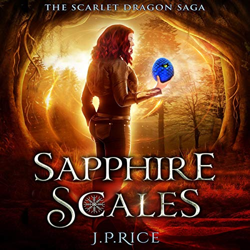 Sapphire Scales audiobook cover art