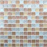 HyFanStr Adhesivo adhesivo para azulejos de pared para baño, mosaico 3D de cocina, azulej...
