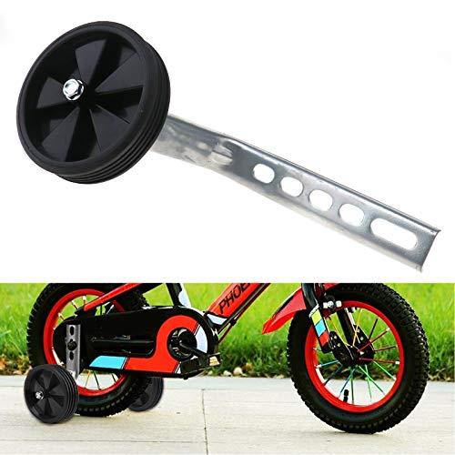 2er Set 12-20″ Stützräder für Kinderfahrrad Sicherheitsstützräder Sport Kinder Fahrrad Radfahren Schwarz - 7