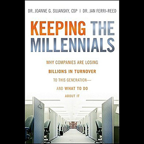 Keeping the Millennials audiobook cover art