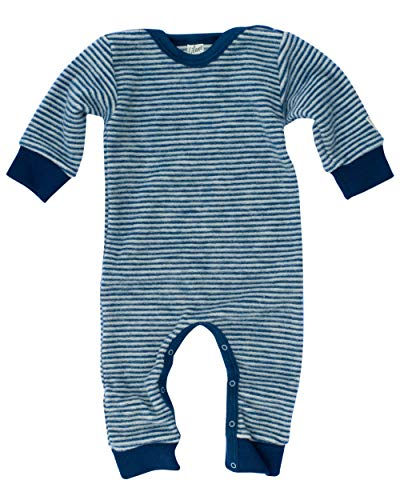 Lilano, Mono infantil y bebé sin pie, 100% lana (cultivo ecológico). La Marina De Rayas 2 mes