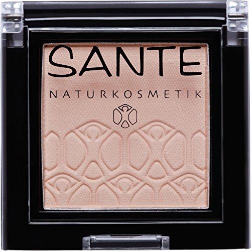 SANTE Naturkosmetik Mono Shade Lidschatten 01 It's Nude, Beige, Eyeshadow, Matte Farbnuance, Vegan, Bio-Extrakte, 2g