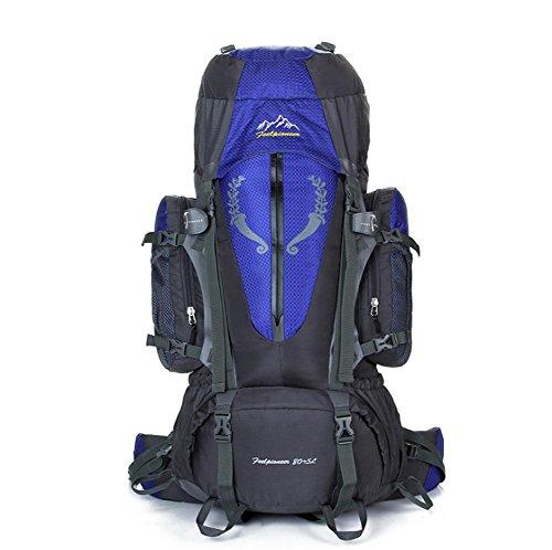 SZH&BEIB Sac à dos randonnée très grande capacité 85L pour le sac d'alpinisme Voyage en plein air en nylon imperméable , A