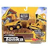 Tonka - Paquete Combinado de Motores metálicos - camión volquete y niveladora