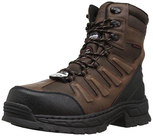 Skechers for Work Men's Vinton Lanham Work Boot, Brown, 9.5 M US