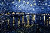 1art1 Vincent Van Gogh - Sternennacht Über Der Rhône,