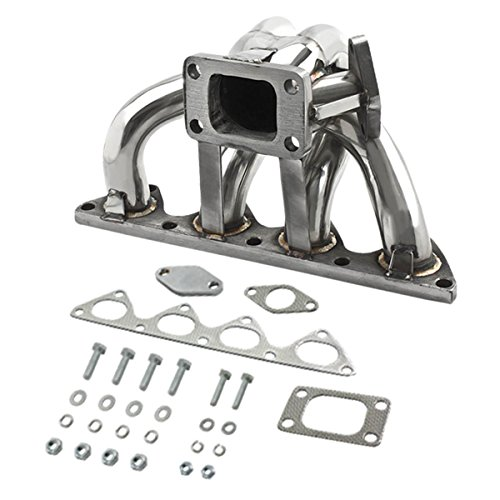 DNA Motoring TM-B-S-38 Stainless Steel Turbo Manifold