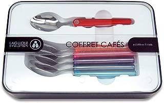 Couleur panach/ée Laguiole /Évolution Garantie lave-vaisselle Ustensile de cuisine haute qualit/é Louche en acier inoxydable