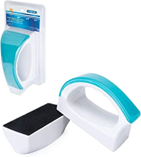Beslands 水槽用磁力ブラシ 水槽両面ガラスクリーナー 水槽掃除 水槽クリーナー 水族館磁気ブラシ 水族館ガラス用ブラシ 金魚鉢クリーン コケ取り 水槽表面汚れ 水槽内廃棄物掃除可能 強力清潔 (XL)