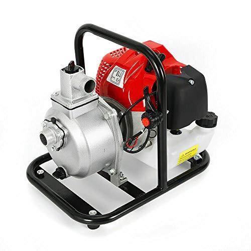 Motor de Gasolina 43CC 8000L / h Bomba de Agua Bomba de piscina de Fuente de Estanque de Agua Bomba de Jardín