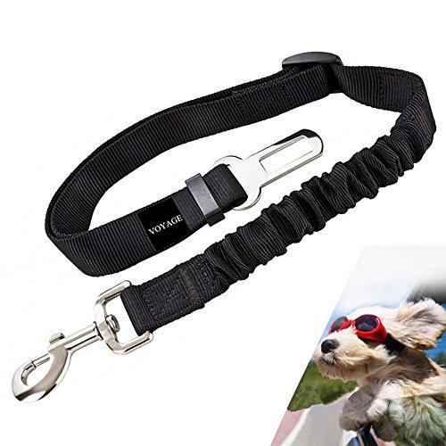 Premium Hunde-Sicherheitsgurt fürs Auto - höchste Sicherheit für Dich und Deinen Hund - Perfekter passend für alle Hunderassen - VOYAGE Hunde-Anschnall-Gurt