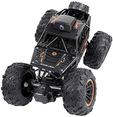 Bck 1:18 Alloy RC Car Any Terrain with WiFi HD Camera RC Crawler Car Best Gift 2.4Ghz High Speed Radio Off-Road Climbing Car Children Adults Kids Smart Remote Control Car