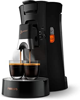 Philips Senseo Select CSA240/60 kapsüllü kahve makinesi (kahve sertliği seçimi Plus, hatırlatma fonksiyonu, geri dönüştürü...