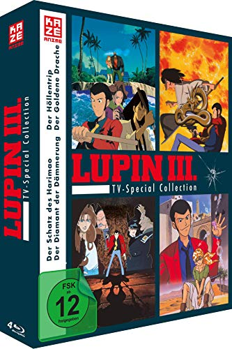 Lupin the 3rd - TV-Special - Collection - [Blu-ray]