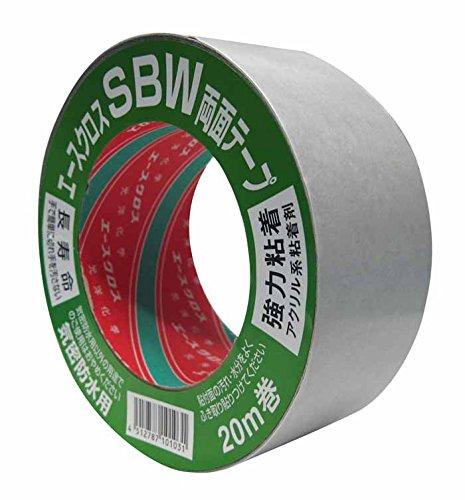 光洋化学 養生テープ エースクロスSBW 100mm×20m (10巻)