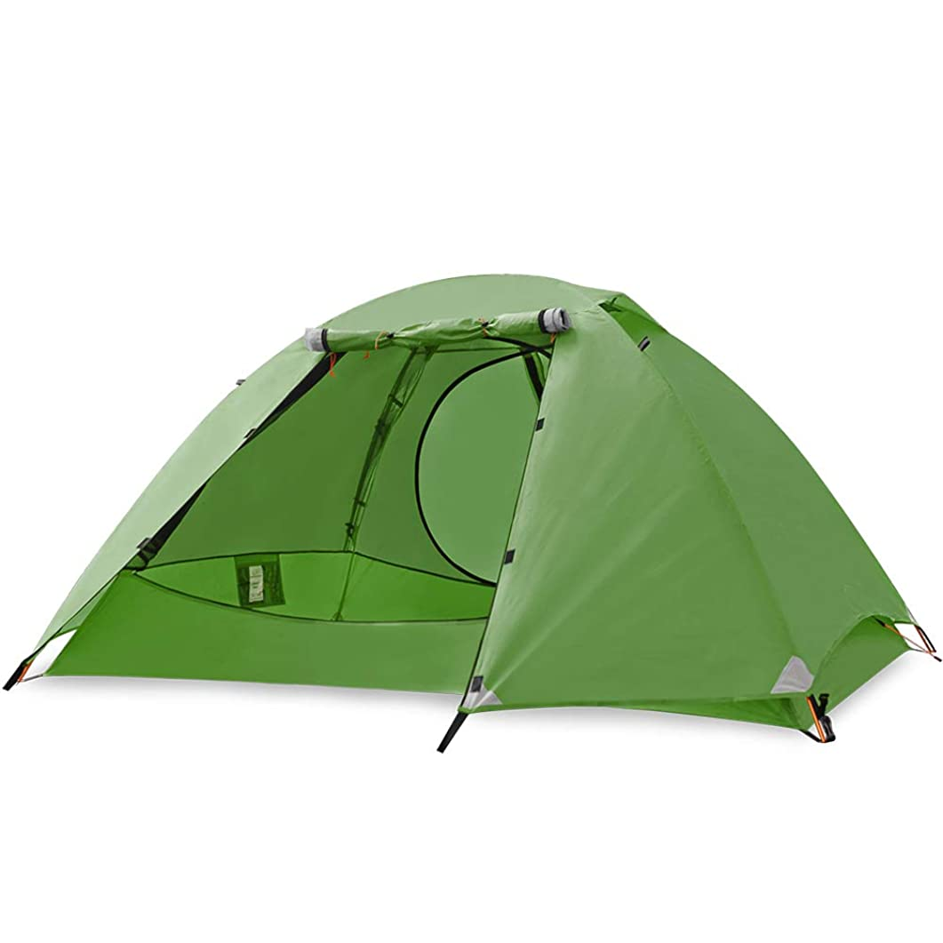 下位どれでも検閲SKYLINKテント 4シーズンテント き アウトドアテント キャンプ 登山 ツーリング ドーム 高通気性 メッシュスクリーン 防風防水2~4人用