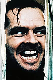 Jack Nicholson The Shining Classic Here's Johnny Scene 18x24 Poster