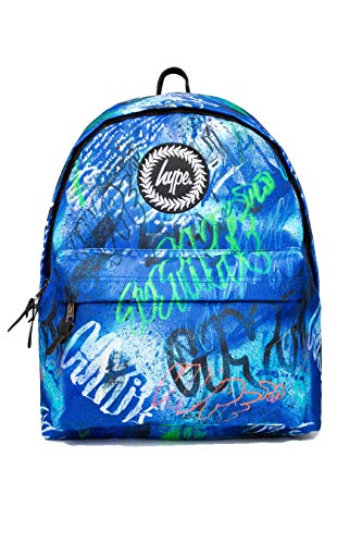 Hype Blue Graffiti Backpack