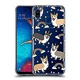Head Case Designs Corgi Unicorn Dog Patterns Soft Gel Case Compatible for Samsung Galaxy A20 / A30 (2019)