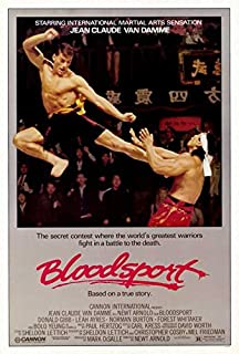 Bloodsport POSTER Movie (27 x 40 Inches - 69cm x 102cm) (1988)