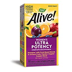 Complete ultra potency daily multivitamin, specially formulated for women. Supports eye health, bone health, skin health, immune health, heart health, and energy metabolism.* With high potency B-vitamins to help convert food into fuel.* Contains food...