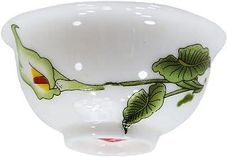 茶杯九点セット 中国茶器 花模様飲杯 中国茶具盃
