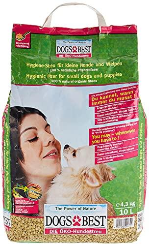 DOGS BEST Litière pour Chien 4,3 Kg 10 L