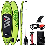 Happy Garden Stand Up Paddle Gonflable Breeze et Ses Accessoires