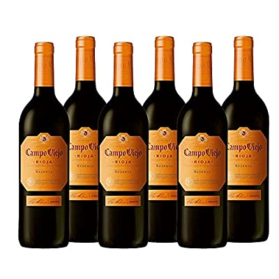 Campo Viejo Rioja Reserva 2016, 75cl (Case of 6, Packaging may vary)