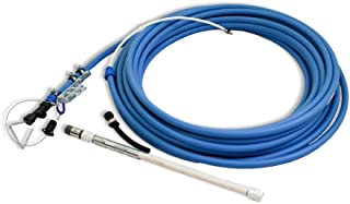 Emergency Hand Water Well Pump - 100 Foot PEX Pipe - Easy Manual Backup - Flexible - Fully Assembled
