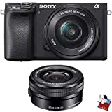 Sony Alpha a6400 Mirrorless Digital Camera with 16-50mm Lens Combo