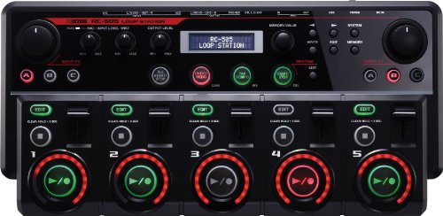 loop station review loopstation comparison boss RC-505 looper rc505