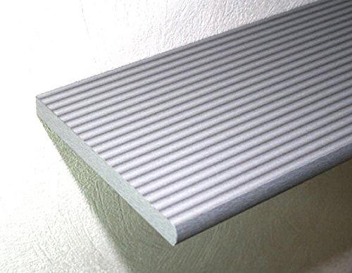 Regalboden Brett 80x20 cm silbern FANTASY / 19 mm stark /1 Einlegeboden