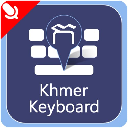 Khmer Keyboard With Voice Typing: Khmer Unicode