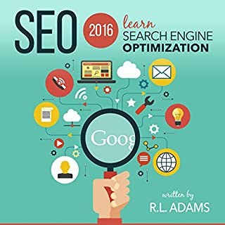 SEO 2016: Learn Search Engine Optimization audiobook cover art