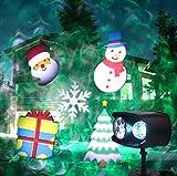 LED-Projektionslampe im Freien wasserdichte Fernbedienung für Zweikopf-Rasen-Lampe