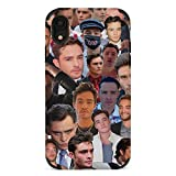 Gossip Chuck Bass Girl iPhone 7 Phone case Ultra-Thin Scratch-Resistant Anti-Collision Soft TPU Protection Soft Microfiber Lining